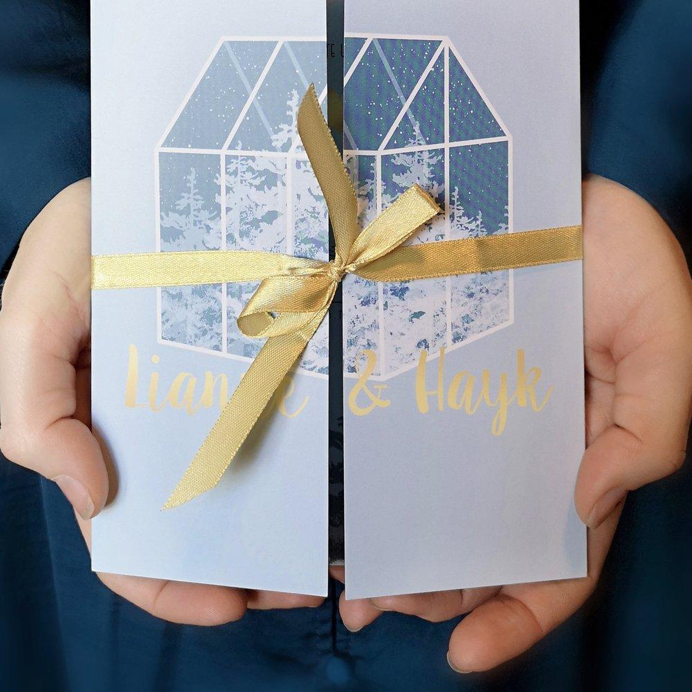 bruiloft stationery l+H -
