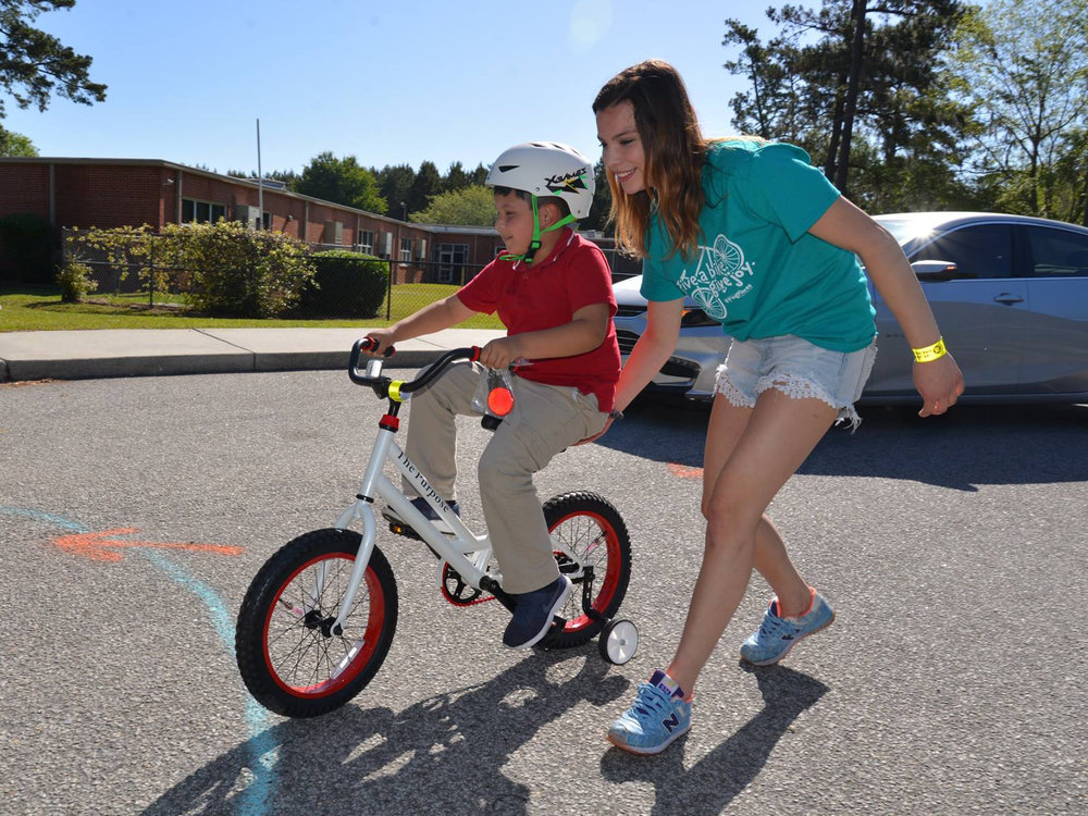 Kiawah Cares is partnering with Going Places to give away 135 bicycles in 2019. Photo courtesy of Going Places.