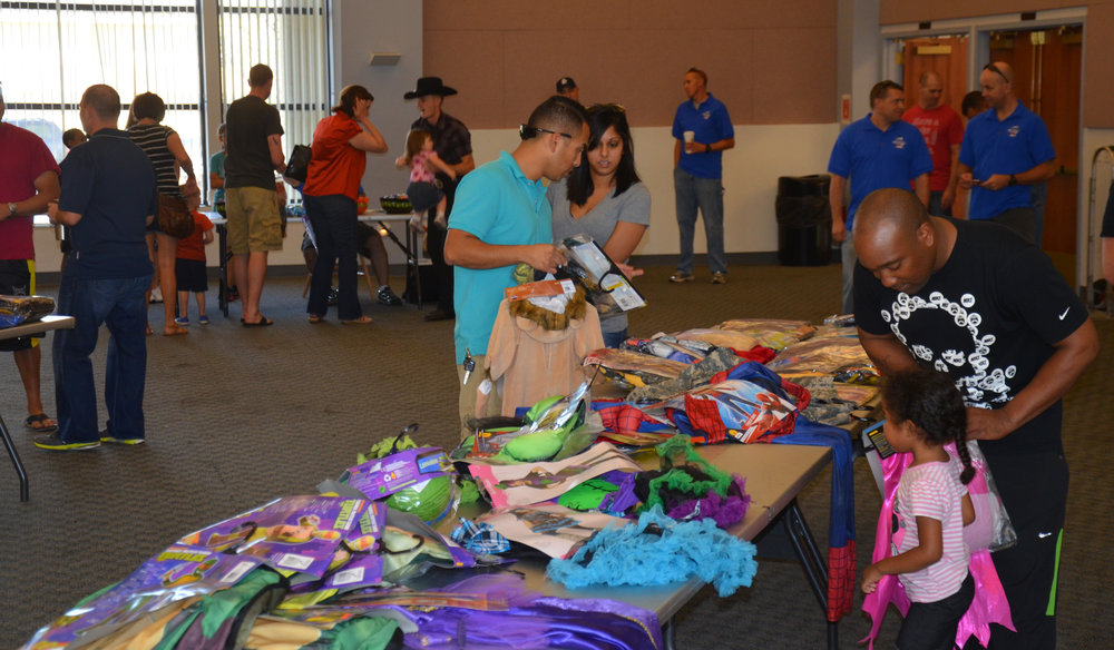 - Beale's First Sergeant Council donated nearly 150 costumes to children in need.