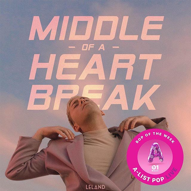 """Thank you so much @arjanwrites and @beats1official for making """"Middle Of A Heartbreak"""" the #BopOfTheWeek on A-List Pop Live!  This is so fucking cool!! Listen at 8pm PST tonight on Beats 1 radio at Apple.co/Arjan!  I will be! 💔"""