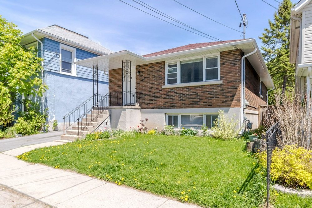 91 Patrick St. - A brick duplex in the fruit belt, just minutes to the park and a short walk downtown.Listed at $425,000.