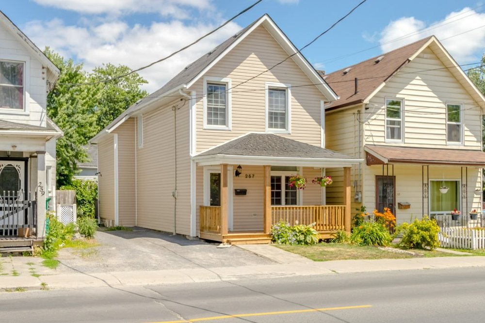 257 Montreal St. - A detached and renovated home a block from The Elm and five minutes from the river, ten from downtown.Listed at $309,000.