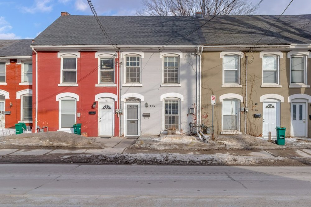 115 Montreal St - A townhome at the very heart of things. Be at the gym in under a minute, at Novel Idea in two, Northside in five. Come home because it's lovely.Listed at $495,000. Sold for more,