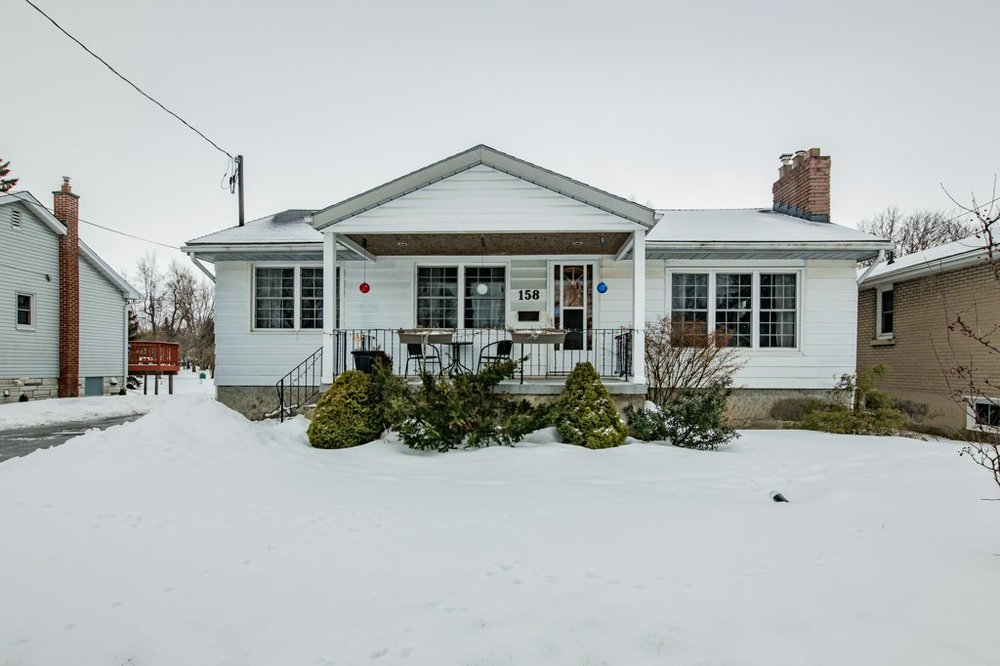 158 Fairview Rd - A Hillendale bungalow with a finished basement and a garage and a deep lot and a pear tree. What more could you ask for?Listed at $295,000. Sold for more.