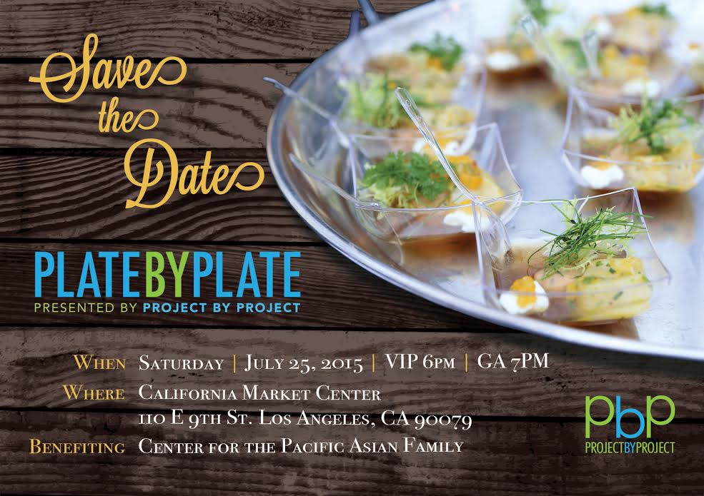 Plate by Plate 2015 Save the Date