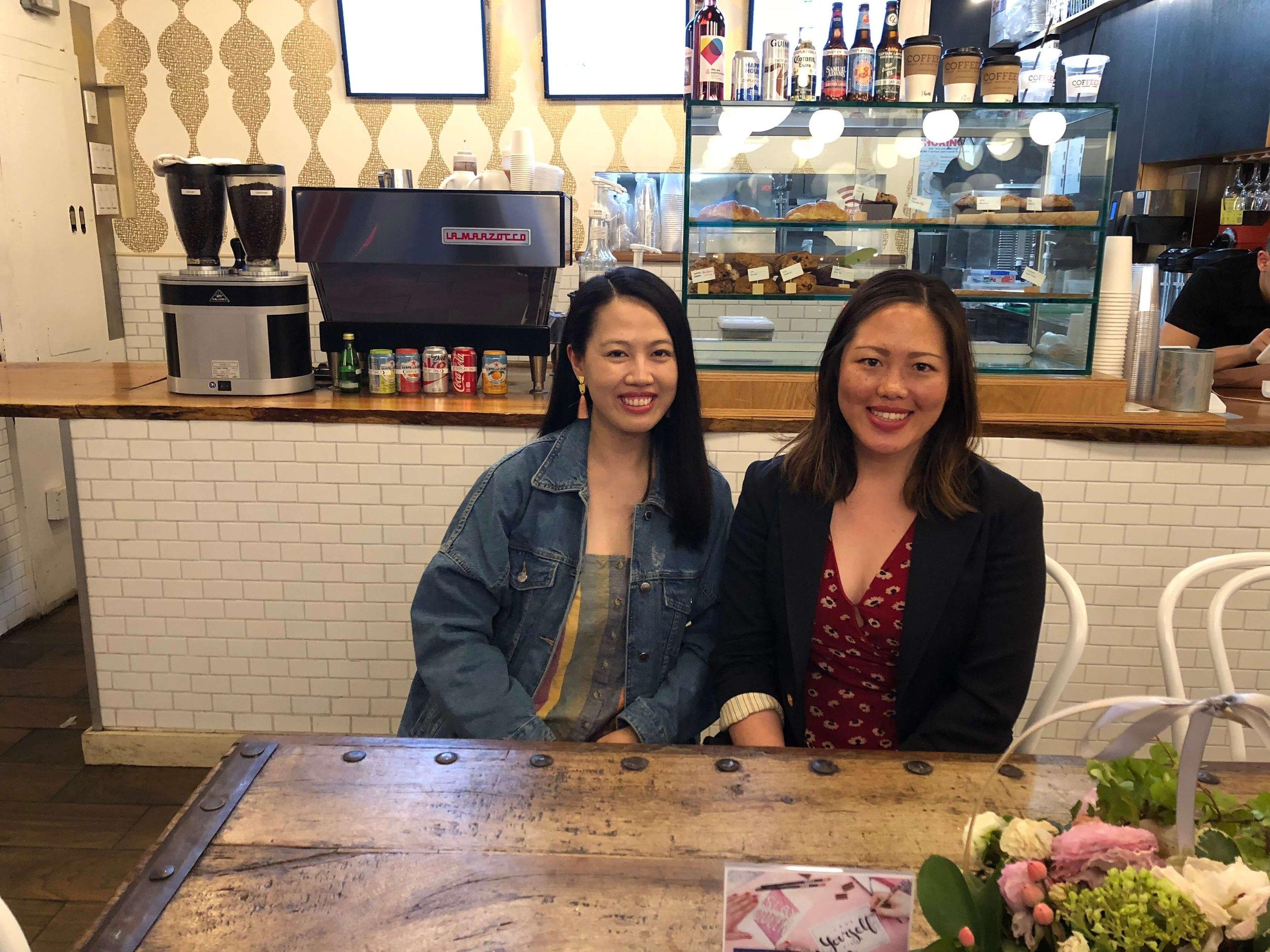 PbP Steering Committee member, Hai Yen, with Lin