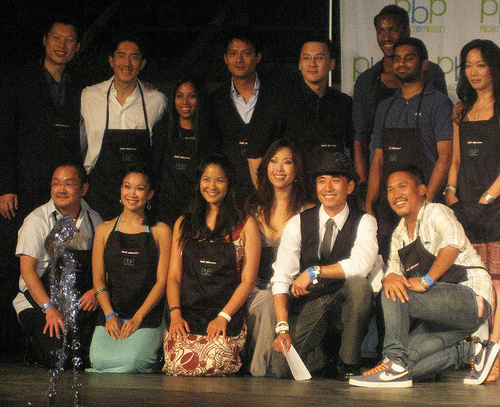 group photo celebrity sous chef at 7th Plate by Plate
