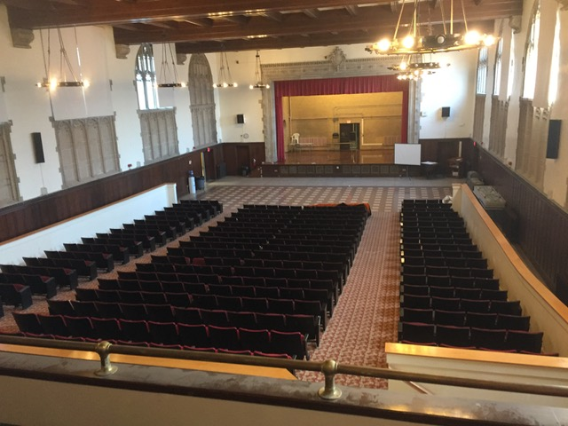 With almost 50,000 people in the neighborhood of Brighton, we pray these 300 seats in Brighton High School's auditorium (where CoaH Brighton will meet) will be filled with people exploring the faith and coming to know Jesus.