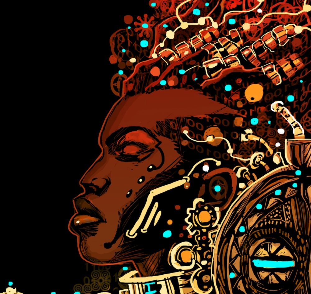 A Black re-imagination of artistic, literary, musical and technological culture. - AFROFUTURISm