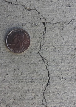 Despite its apparent strength, concrete is susceptible to deterioration due to freeze-thaw cycles.