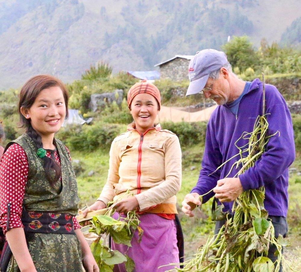 Community development and community engagement in Gatlang, Nepal