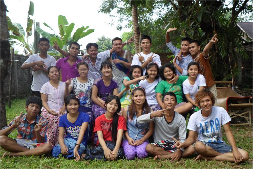 Community development and community engagement with Zwekabin Myay