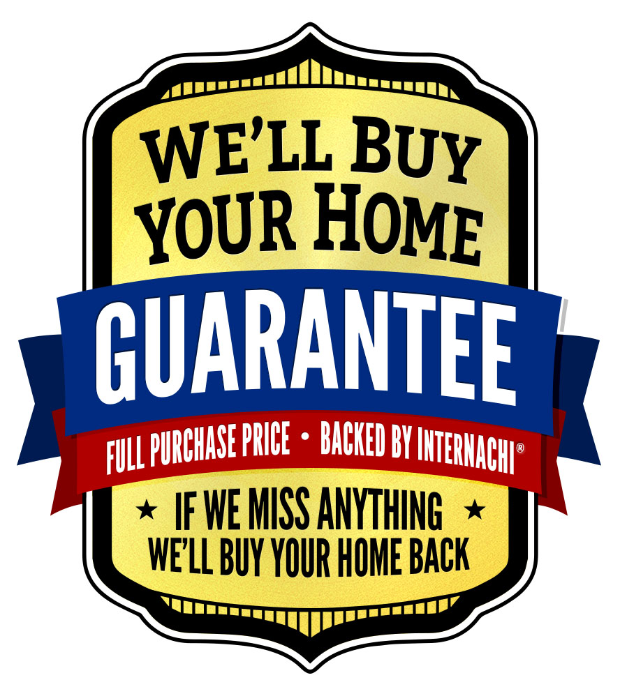 BUY BACK GUARANTEE - Now you can buy your home with confidence. No more wondering if there are issues lurking behind the walls after the home inspection. If we miss anything on your home inspection, InterNACHI will buy your home back for the price you paid for it. It has worked for home buyers just like you across the country.