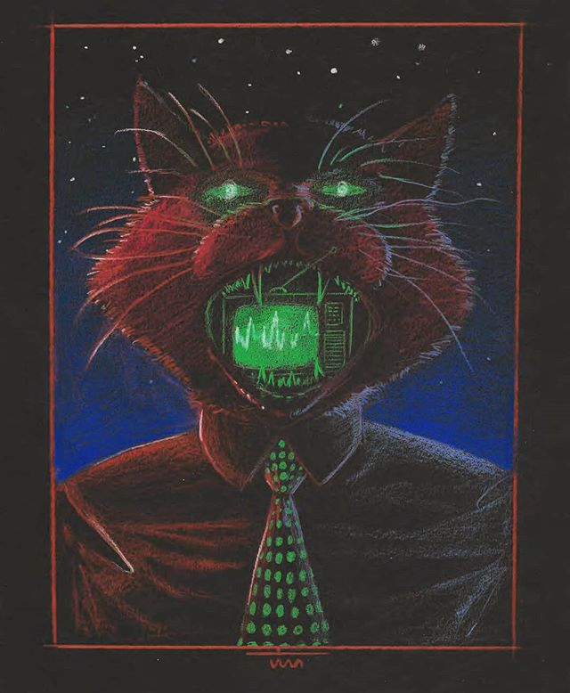 A website has been born! Check out jimfiserart.com Its still in its early days, so expect typos.  #jimfiserart #art #illustration #cat #coloredpencils #graphicdesign #neon #artist #artwebsite