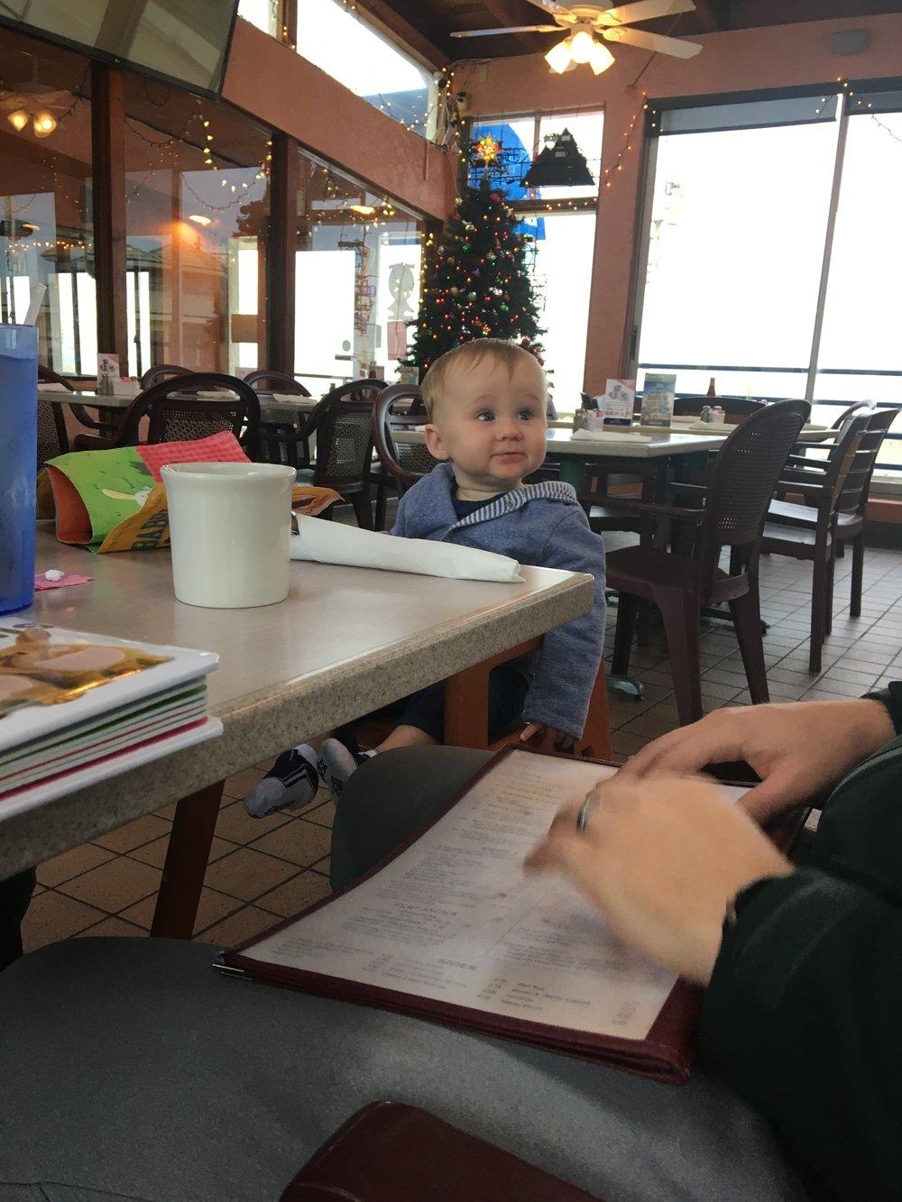 The cutest little breakfast date!