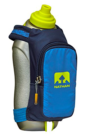 Nathan Bottle  - I use this during my long runs. It's great to put my sword packets into & my keys!