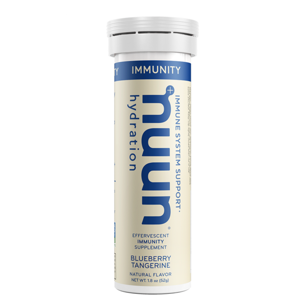 Nuun Immunity  - I like to drink this hot in the morning, as a replacement or addition to my coffee.