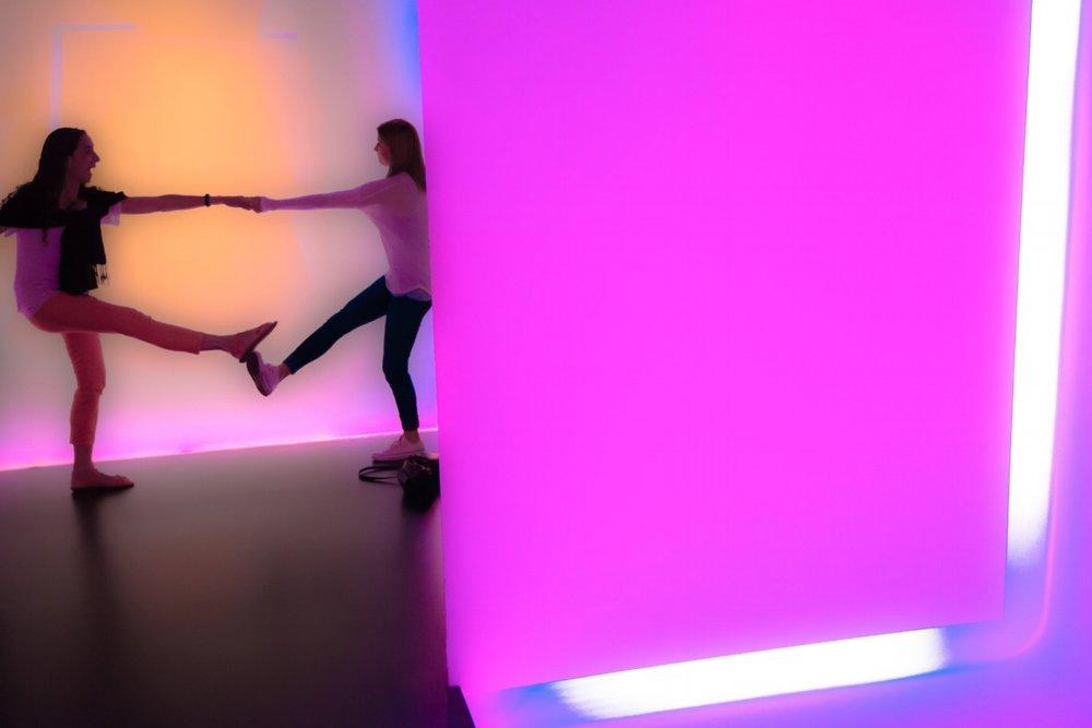 Light Tunnel Dance - Houston 2014
