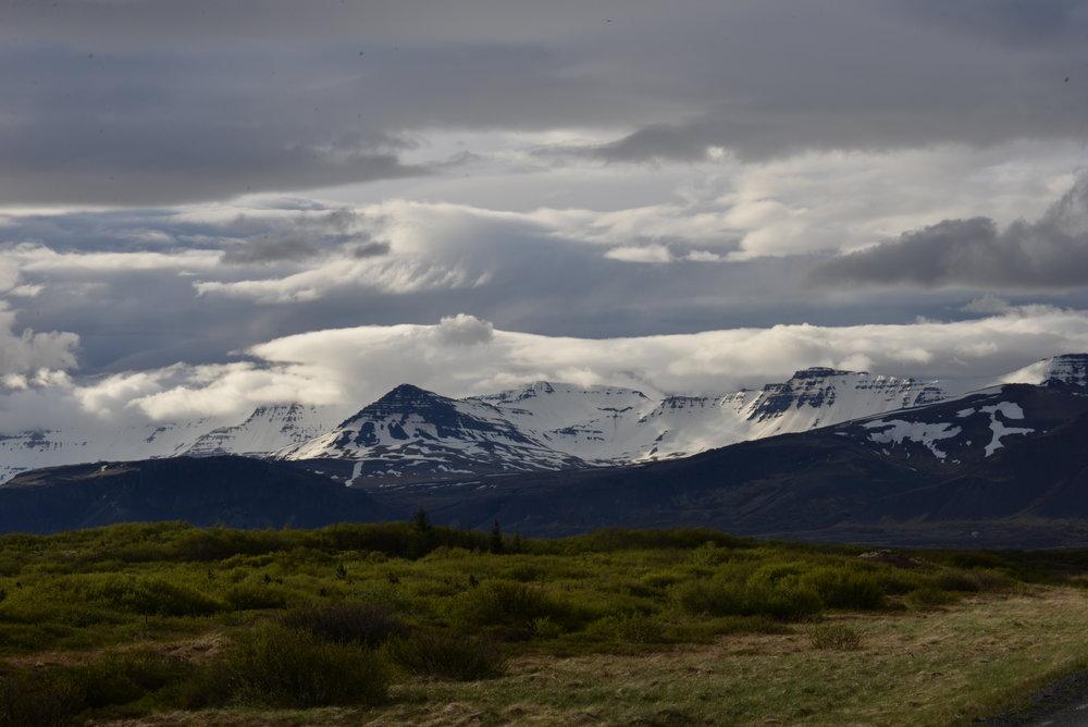 Bogarnes Cloudscape - Iceland - 2017