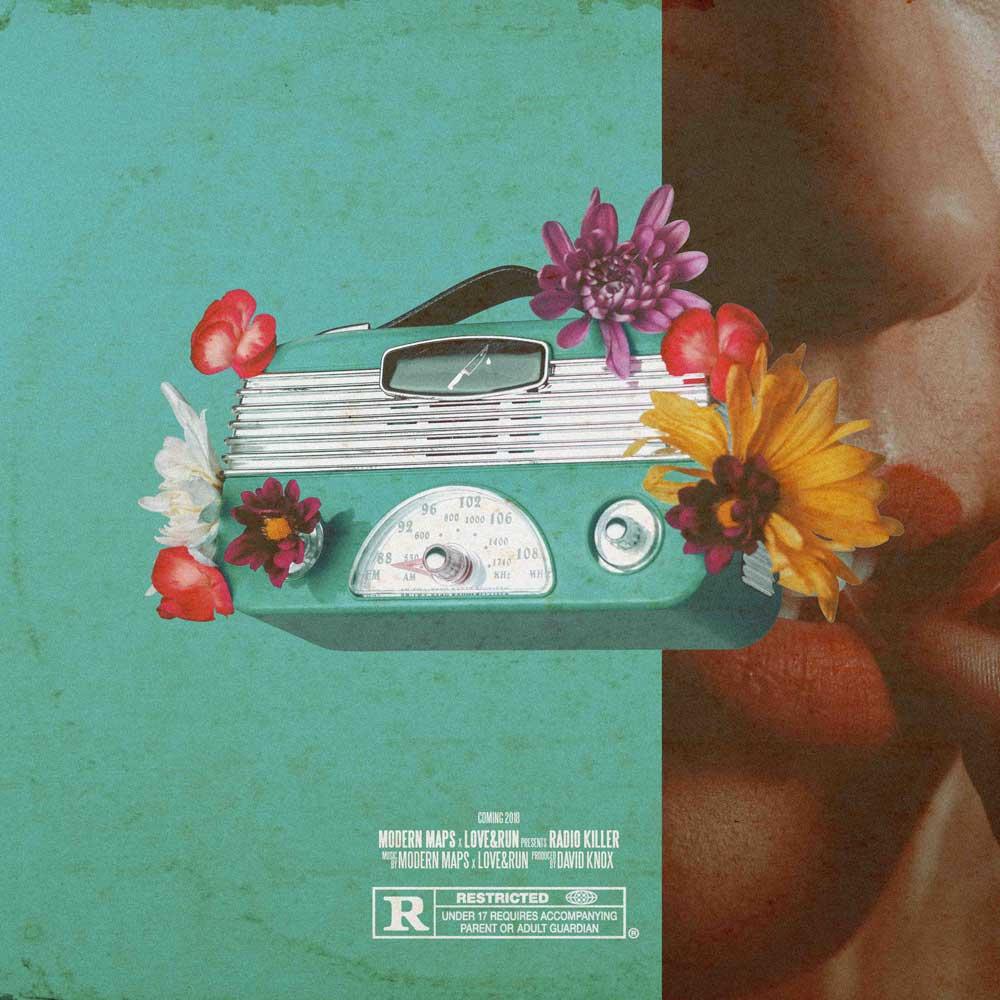 Modern Maps - Radio Killer Album Art