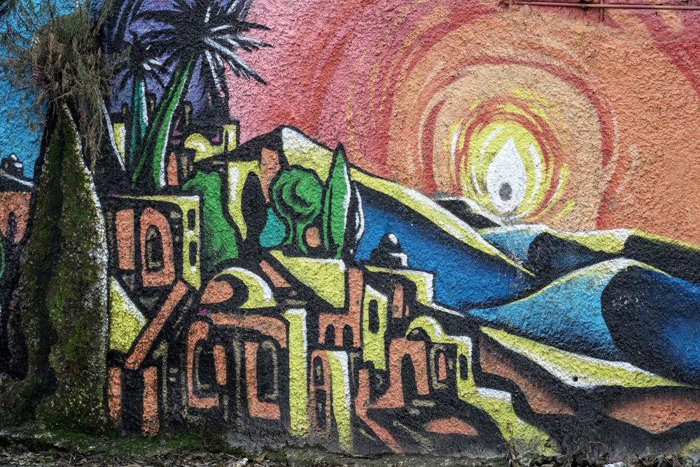 Graffiti in Jerusalem's Old City