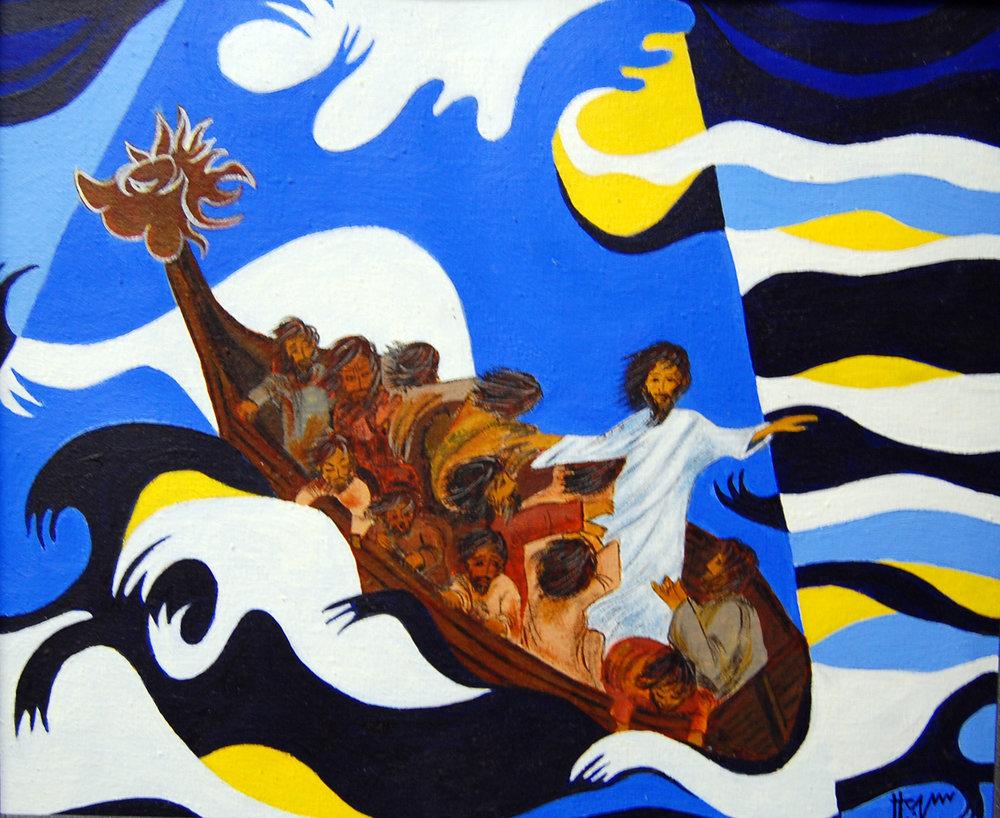 """Peace Be Still"" by Hanna Varghese"