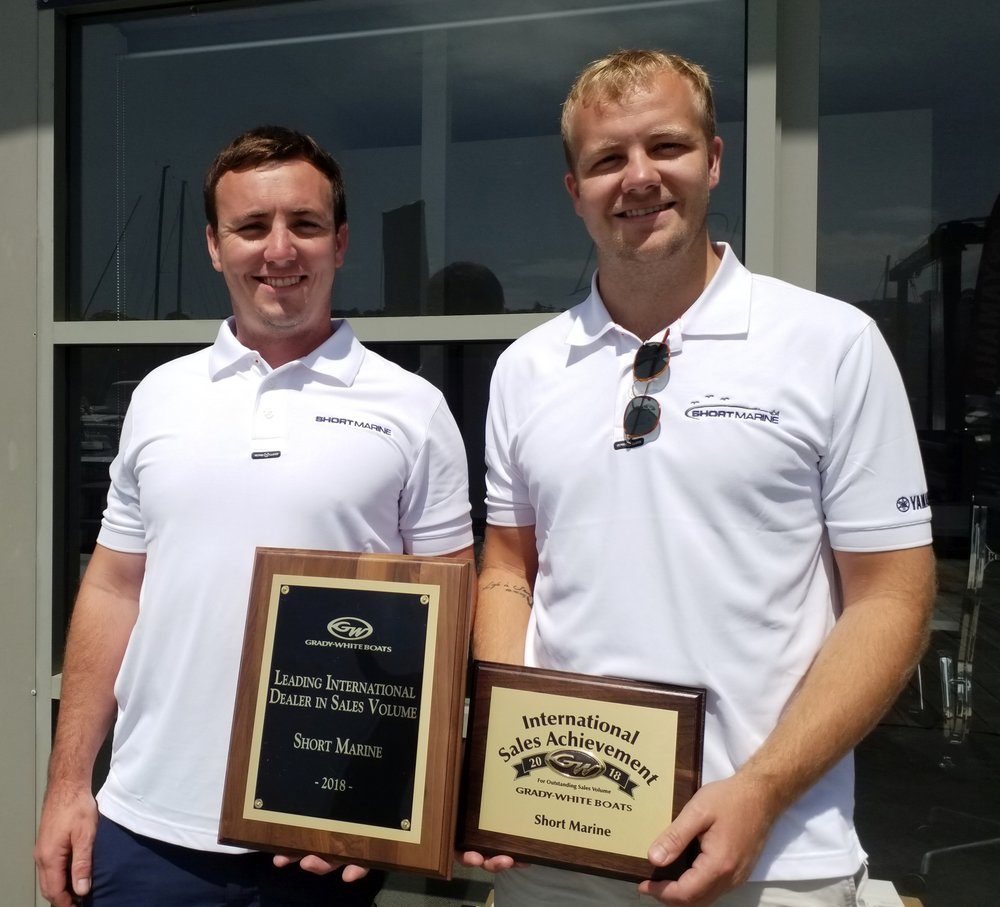 Sydney dealership collects top international sales awards from US boat builder.