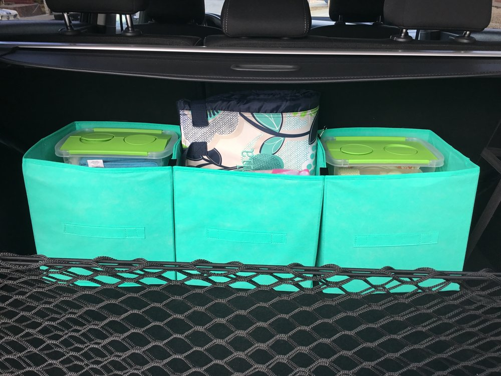 My DIY Car Trunk Organizer