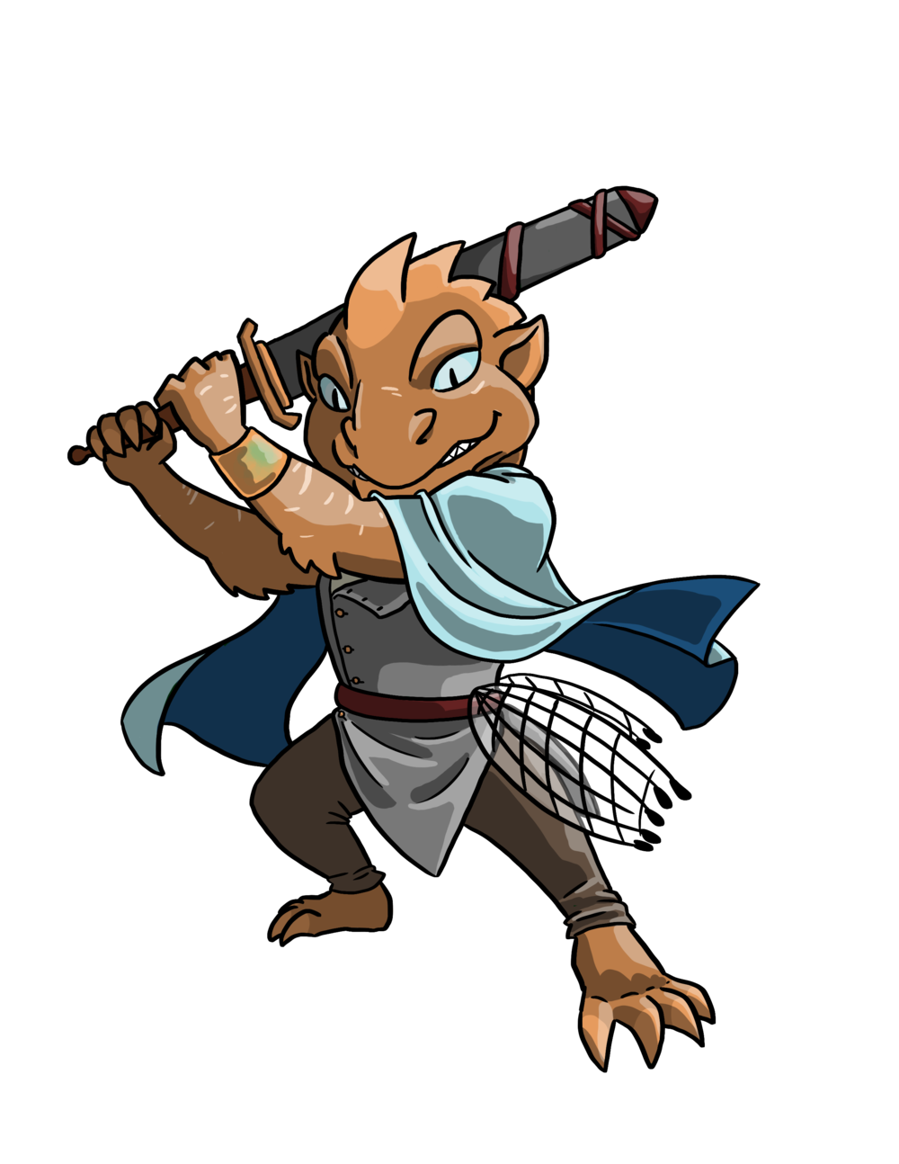 Arnaar Jerynomonis - Arnaar Jerynomonis has been a sailor since he was young man, working his way up the Ishi Kari fleet. However, after the cataclysm there has been disunity and a lack of consistent jobs. Now Arnaar heads to the city of Mezomola with a new job and a new adventure in his wake.Arnaar Jerynomonis is played by Alex Bissonnette and works in Aircraft Maintenance in Tacoma, Washington.