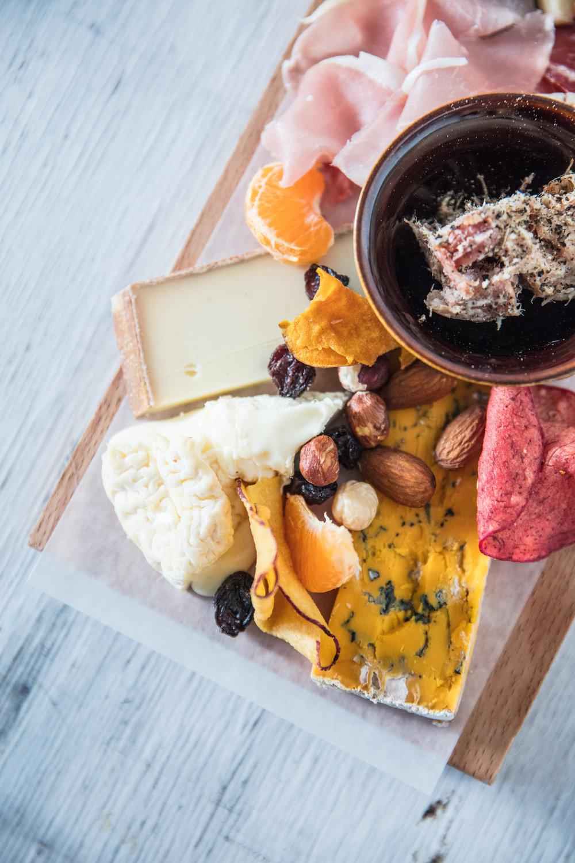 Edgar kaasbar Gent kaasplank charcuterie cheese platter