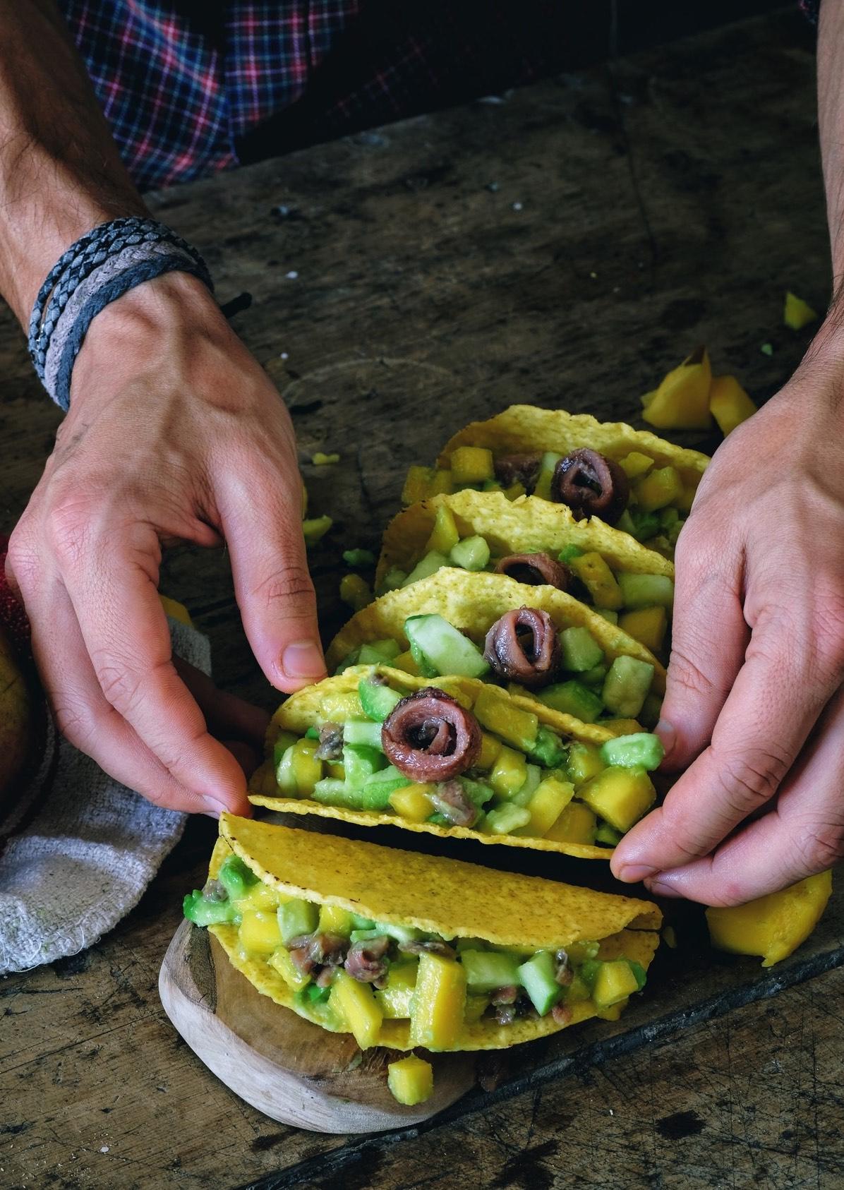 tacos di avocado