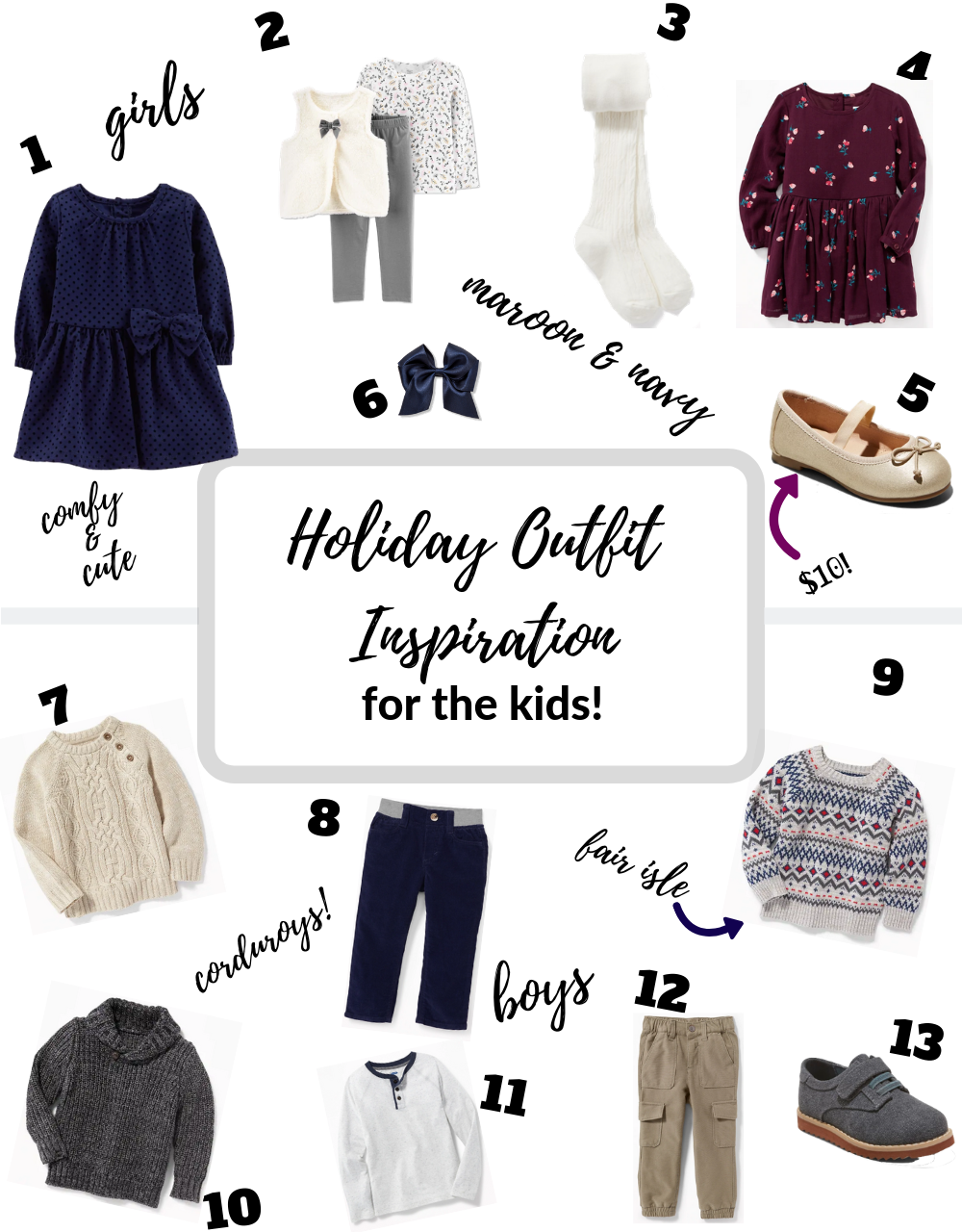 229929744e Holiday outfit ideas for the kids — shop with jack & june