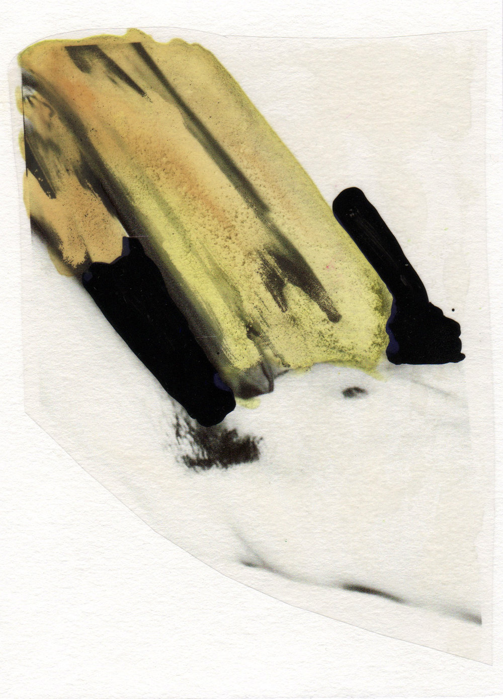 Trance and Form 2015 acrylic watercolor mylar archival ink and paper 5 x 7