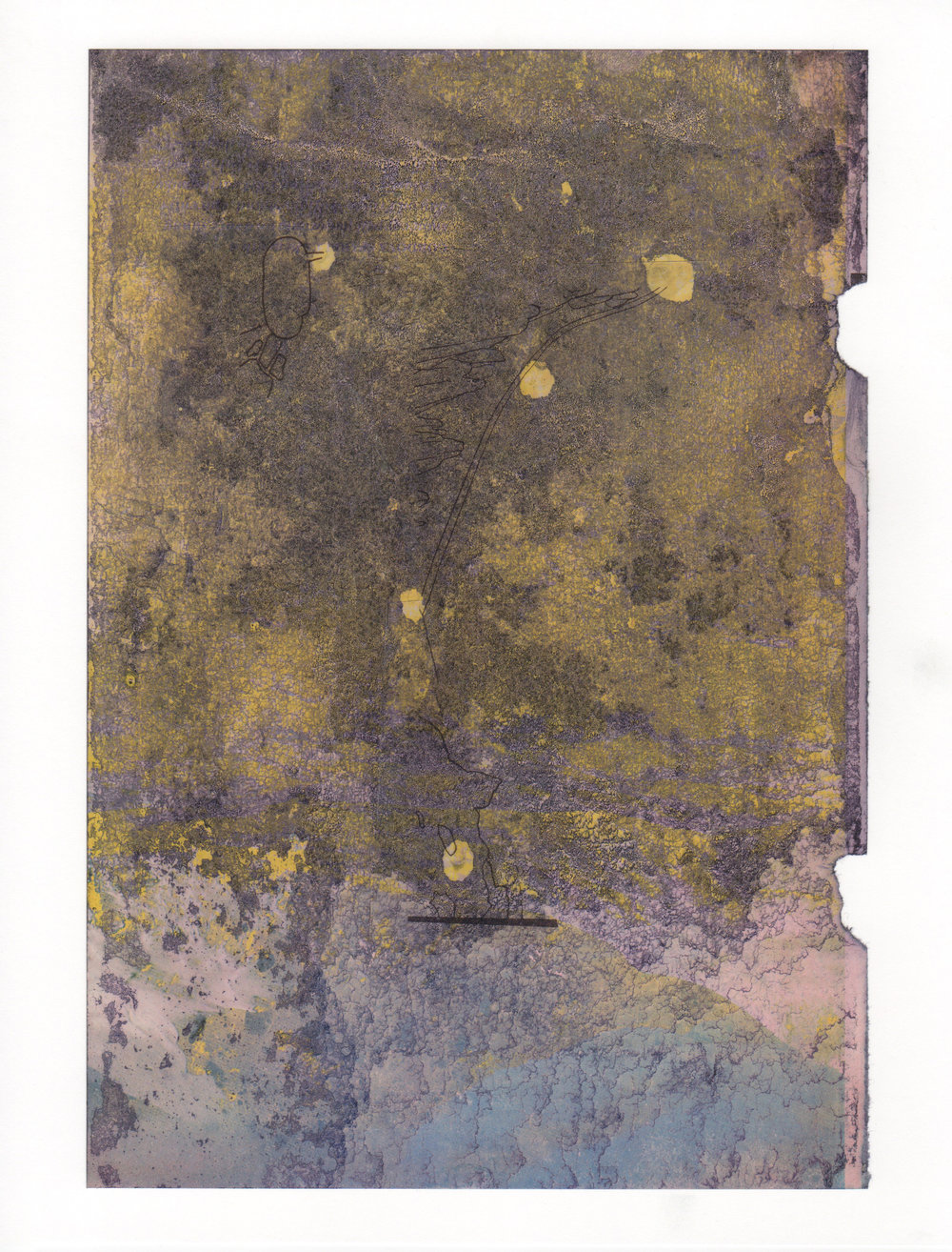 Liquid Overhead 2015 acrylic mylar archival ink and paper 8 5 x 11