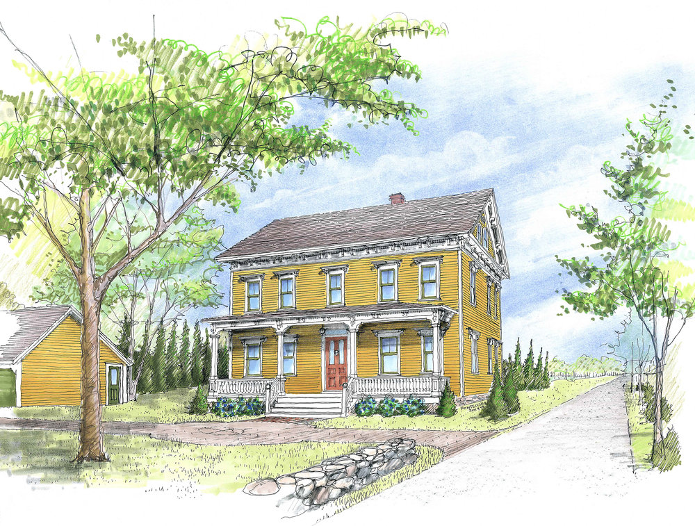 Block Island Doctor's Residence