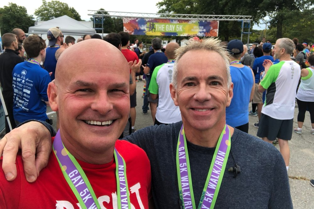 THE GAY 5K  A benefit for Options Magazine, a nonprofit community resource for the LGBTQ+ community in Southeastern New England