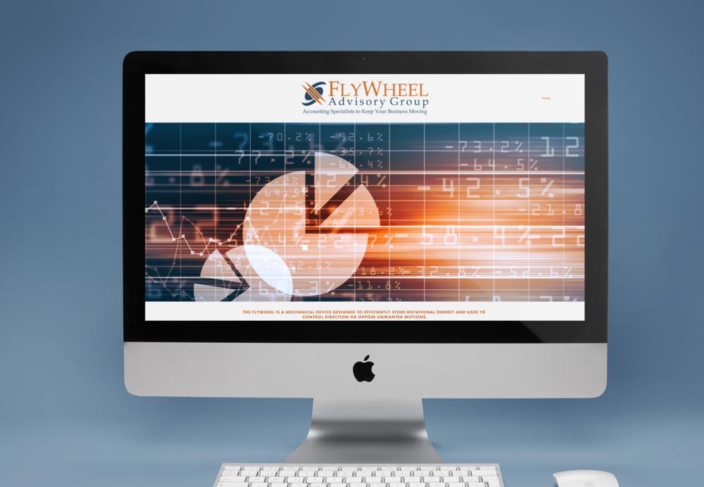 Branding, Logo, Website Design + Marketing -  FlyWheel Advisory Group - Accounting Specialists