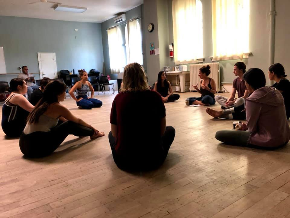 Facilitator/Teacher - Alix facilitates workshops in movement, impulse, mind/body, intimacy for the actor, Laban, mask (neutral, character, grotesque and Commedia Dell'Arte), contemporary and Shakespeare performance.
