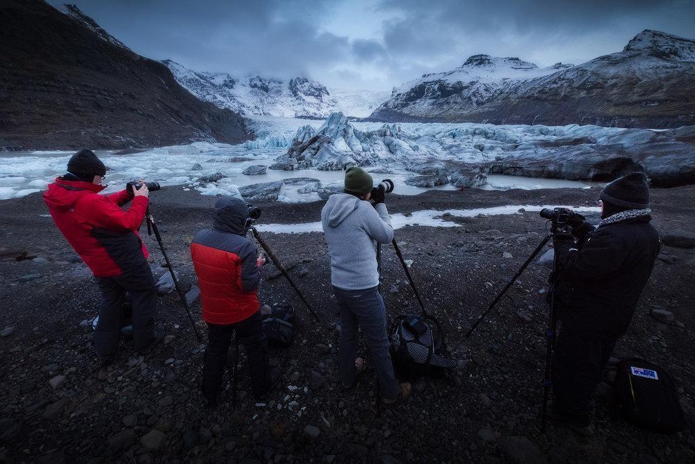 Iceland - Glacier - South Coast - Vatnajökull National Park - Photography