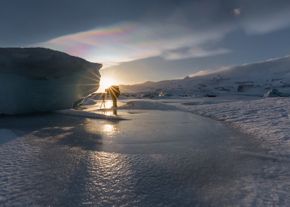 Fjallsárlón Photography - Winter - South Coast - Vatnajökull National Park