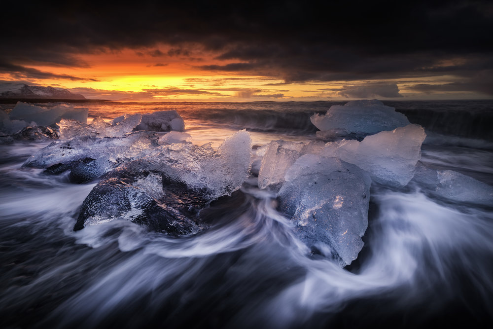 Diamond Ice Beach - South Coast Iceland