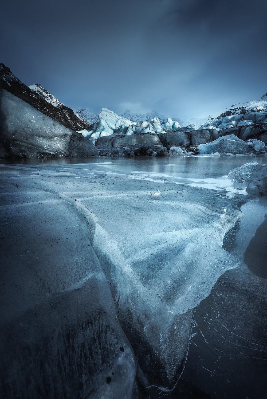 Svínafellsjökull Glacier - Vatnajökull National Park, South Coast Iceland