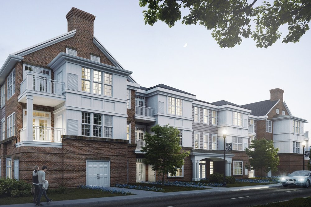 EVANS MILL - LOCATION: CHERRY HILL, NJNew Evans Mill residencies feature a total of 152 Units.