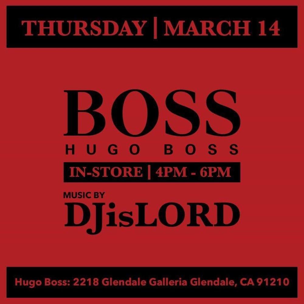 DJisLORD @ Hugo Boss (Glendale Galleria In Store) (3.14.19).JPG