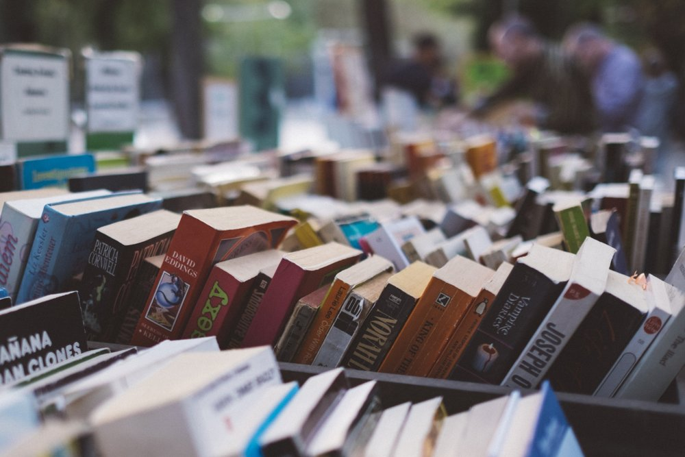 """""""Second-hand books are wild books, homeless books; they have come together in vast flocks of variegated feather, and have a charm which the domesticated volumes of the library lack."""" – Virginia Woolf"""