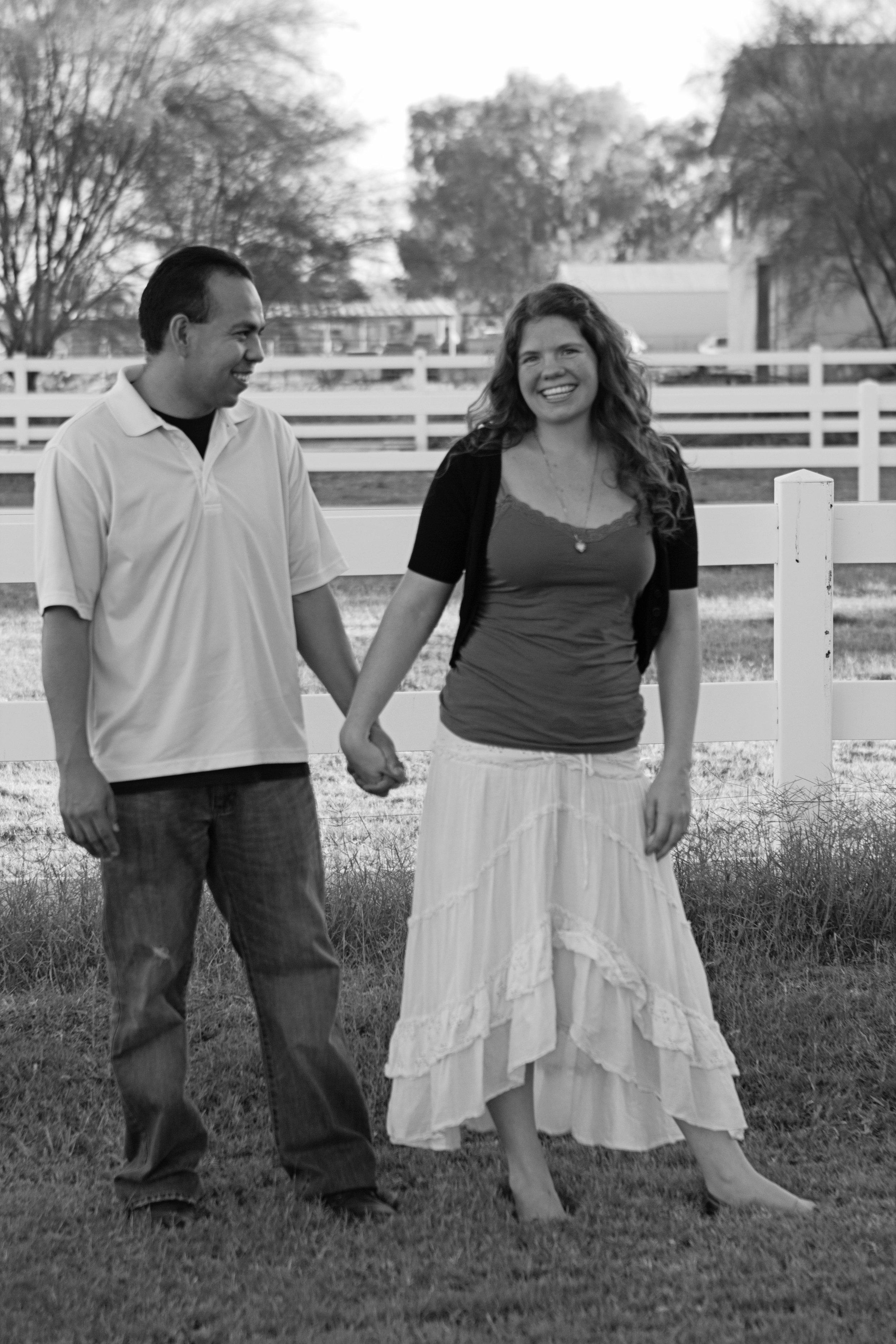Heather and Juan