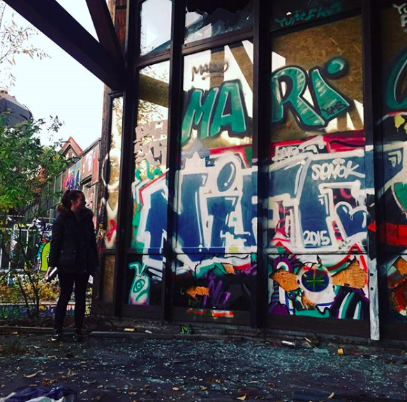 Some graffiti never hurt anyone