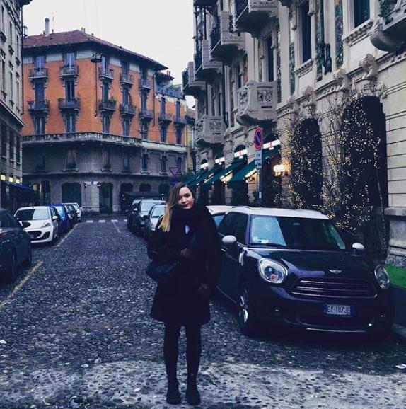 A crisp daytime stroll around Milan, Italy.