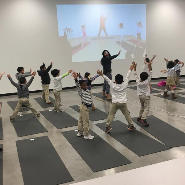 Yoga classes at Futuro Academy