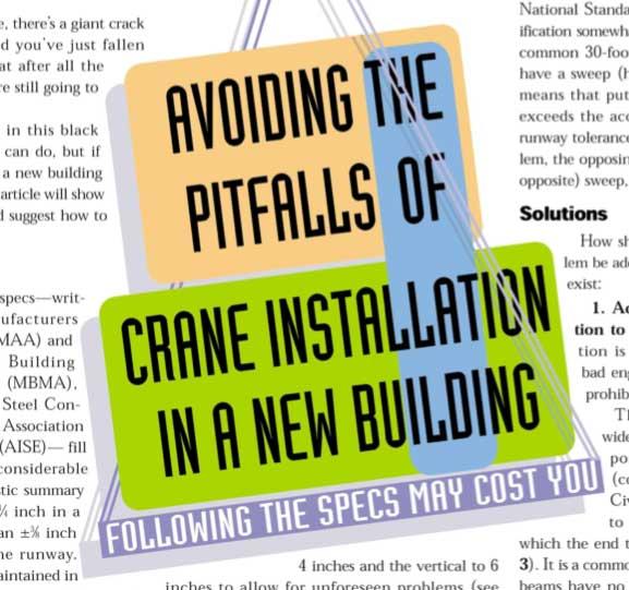 Overhead Crane Pitfalls
